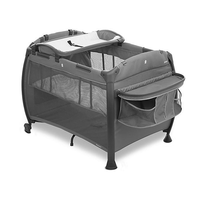 Alternate image 1 for Joovy® Room Playard Nursery Center in Charcoal