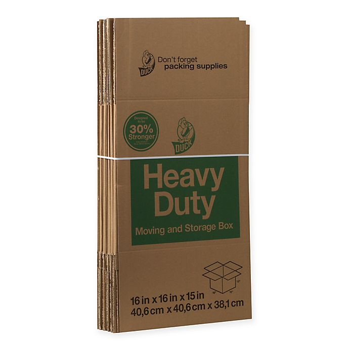 Alternate image 1 for Duck® 6-Pack 16-Inch Heavy Duty Boxes