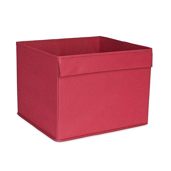 Household Essentials® Basic Open Storage Bin With Pocket