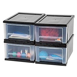 IRIS® 7 qt. Stacking Drawers (Set of 4)