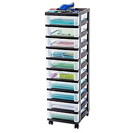 IRIS® 10-Drawer Rolling Storage Cart