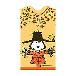 """C.R. Gibson 16-Count Peanuts™ """"Welcome Autumn"""" Harvest Dinner Napkins"""