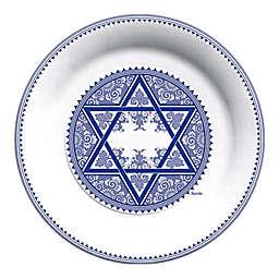 C.R. Gibson Spode Judaica Hanukkah Paper Lunch Plates (Set of 8)