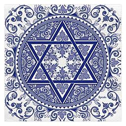 C.R. Gibson Spode Judaica Hanukkah Paper Beverage Napkins (Set of 20)