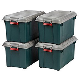 IRIS® Store-It-All 21.8-Gallon Heavy Duty Storage Tote (Set of 4)