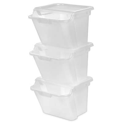 IRIS® 41.6 qt. Recycling Bin (Set of 6)