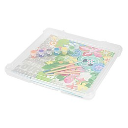 IRIS® Plastic 12-Inch x 12-Inch Scrapbook Storage Cases (Set of 10)