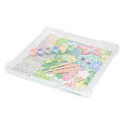 IRIS® Plastic 12-Inch x 12-Inch Scrapbook Storage Cases (Set of 10)