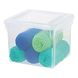 IRIS® Letter Size File Box (Set of 6)