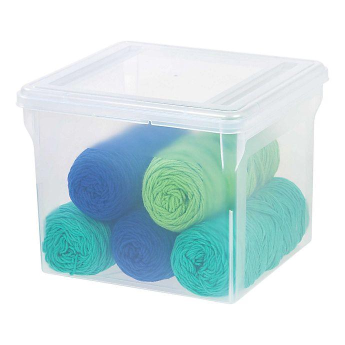 IRIS® Letter Size File Box (Set of 6) | Bed Bath & Beyond