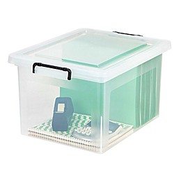 IRIS® Legal Size File Storage Box with Buckles (Set of 6)