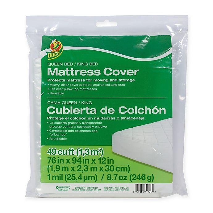 Duck Brand Queen King Mattress Cover, Bed Mattress Storage Covers