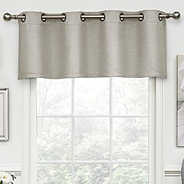 Eclipse Luxor Tailored Grommet Room Darkening Valance