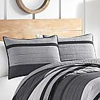 Nautica® Vessey Standard Pillow Sham in Grey