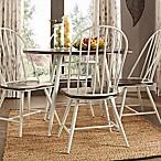 iNSPIRE Q® Bratton 5-Piece Dining Set in White