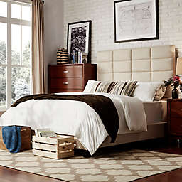 iNSPIRE Q® Ancona Panel Tufted Headboard and Bed Collection