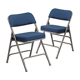 Flash Furniture Hercules Padded Folding Chairs (Set of 2)
