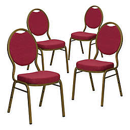 Flash Furniture HERCULES™ Fabric Banquet Chairs (Set of 4)