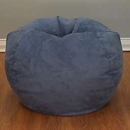 Large Microsuede Bean Bag Chair