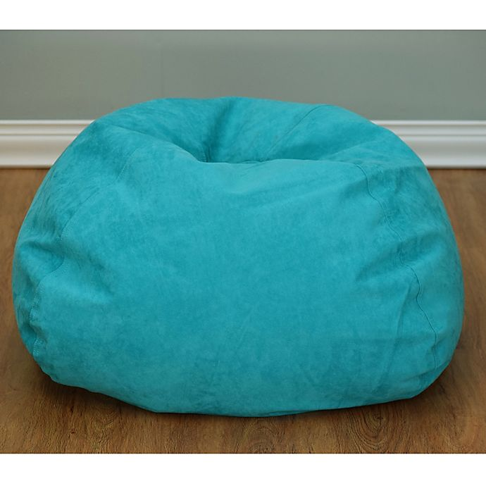 Awesome Large Microsuede Bean Bag Chair Bed Bath And Beyond Canada Ibusinesslaw Wood Chair Design Ideas Ibusinesslaworg