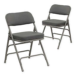 Flash Furniture Hercules Padded Folding Chairs (Set of 2)