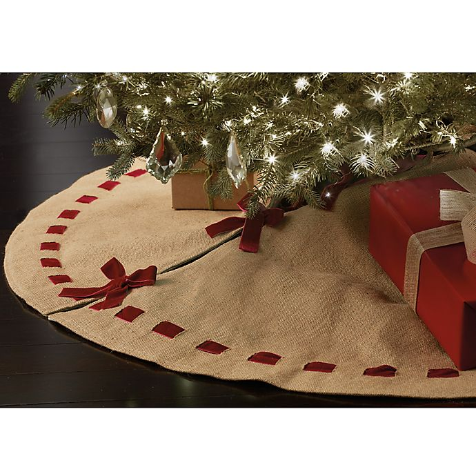 view a larger version of this product image - Burlap Christmas Decorations For Sale