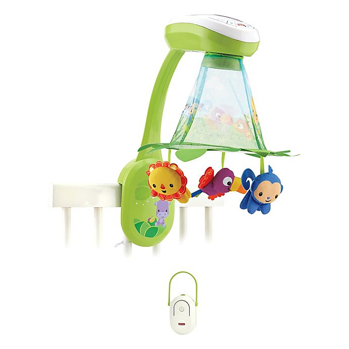 Fisher Price Rainforest Grow With Me Projection Mobile Buybuy Baby