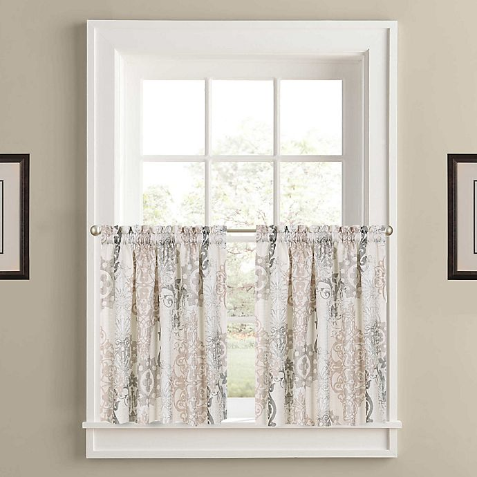 Alternate image 1 for J. Queen New York™ Galileo 45-Inch Window Curtain Panel Pair in Natural