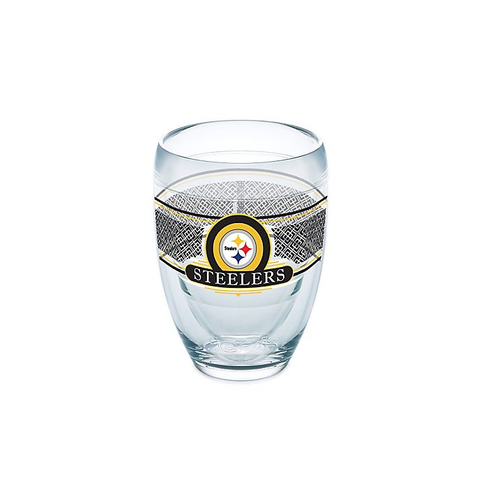 Alternate image 1 for Tervis® NFL Pittsburgh Steelers 9 oz. Stemless Wine Glass