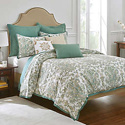 Bluestone Court Harper Duvet Cover in Sage