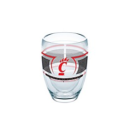 Tervis® University of Cincinnati Bearcats 9 oz. Stemless Wine Glass Reserve Wrap
