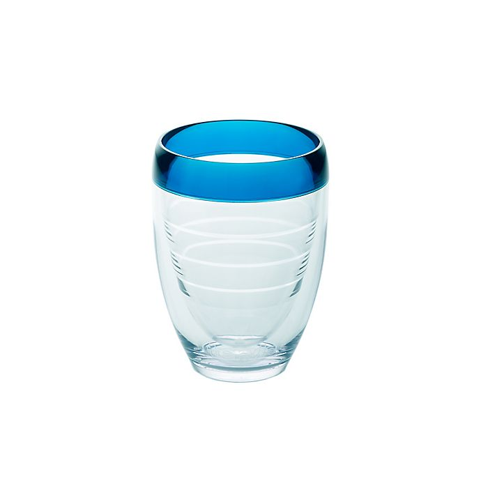 Alternate image 1 for Tervis® 9 oz. Stemless Wine Glass in Blue Infusion