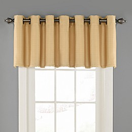 Eclipse Bryson Tailored Grommet Room Darkening Valance