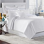 Tristan King Quilt Set in White