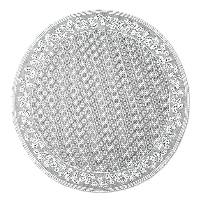 Alternate image 1 for Heritage Lace® Holly Vine 70-Inch Round Tablecloth