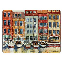 Pimpernel Boat Scene Rectangle Placemats (Set of 4)