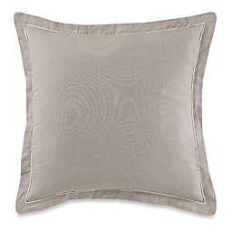 Flatiron Vivian European Pillow Sham In Linen