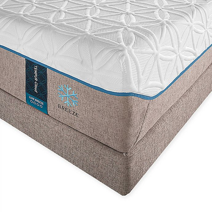 Alternate image 1 for Tempur-Pedic® TEMPUR-Cloud® Luxe Breeze Queen Mattress