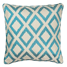 Kas® Diamonds 18-Inch Square Throw Pillow in Turquoise