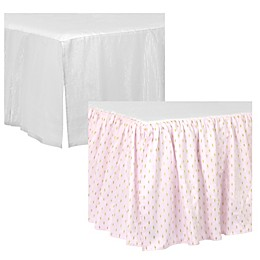 Just Born® Sparkle Crib Skirt