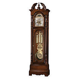 Howard Miller Robinson Floor Clock in Cherry Bordeaux