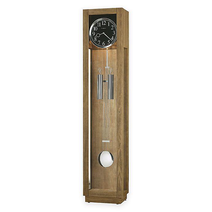 Howard Miller Camlon Floor Clock In Driftwood Bed Bath Beyond