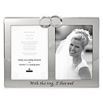 Malden® 2-Photo  With This Ring  Picture Frame