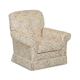 Klaussner® Trigg Swivel Glider in Yellow Joule Daisy