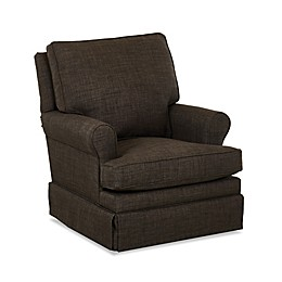 Klaussner® Guthrie Swivel Glider in Charcoal