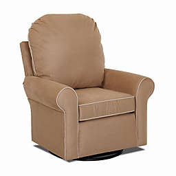 Klaussner® Suffield Swivel Glider in Khaki
