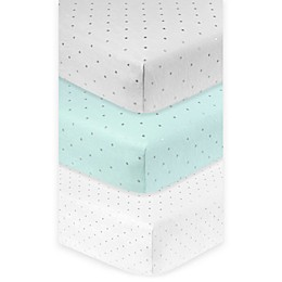 Just Born® Sparkle Fitted Crib Sheet