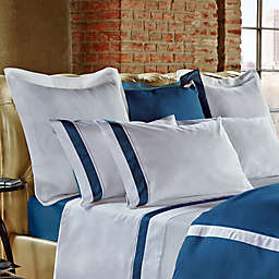 Frette at Home Arno King Pillow Sham in Ocean