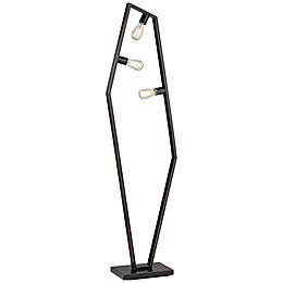 Pacific Coast Lighting® Hexamination Floor Lamp in Bronze