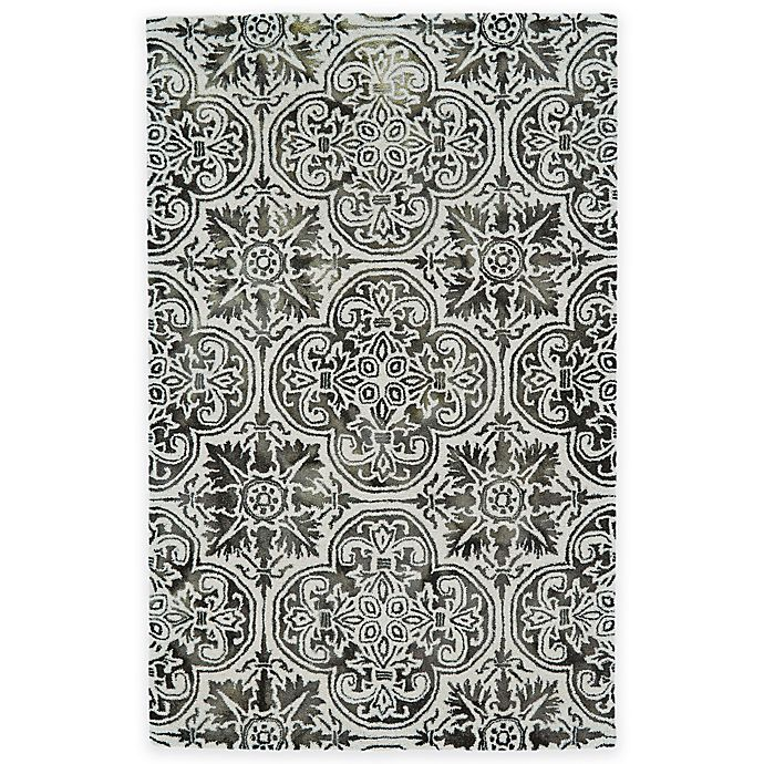 Alternate image 1 for Feizy Billingsley Clovers 8-Foot x 11-Foot Area Rug in Black